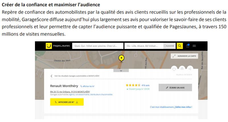 Source Barometre PagesJaunes Des Avis En Ligne Fevrier 2018